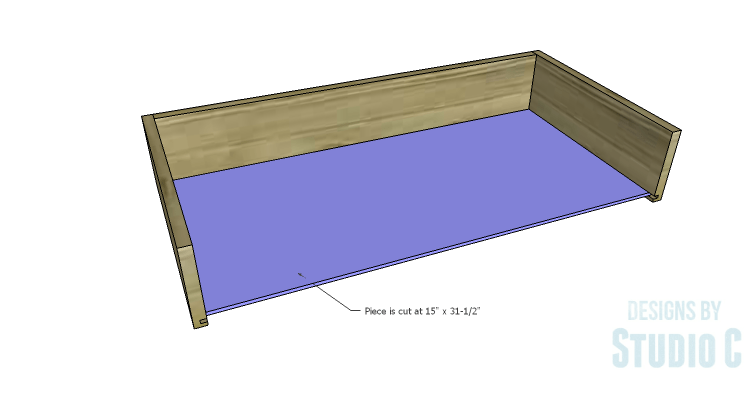 DIY Plans to Build a Brecken Dresser-Drawer 3