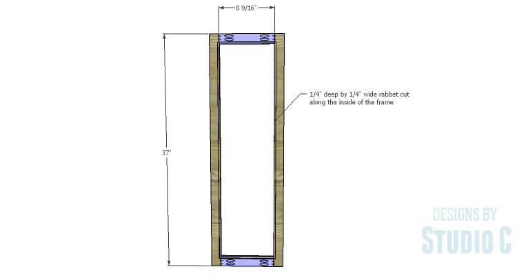 DIY Plans to Build a Coat Cabinet-Doors 1