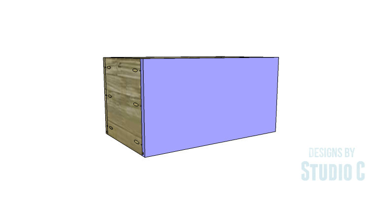 DIY Plans to Build a Coat Cabinet-Drawer 4