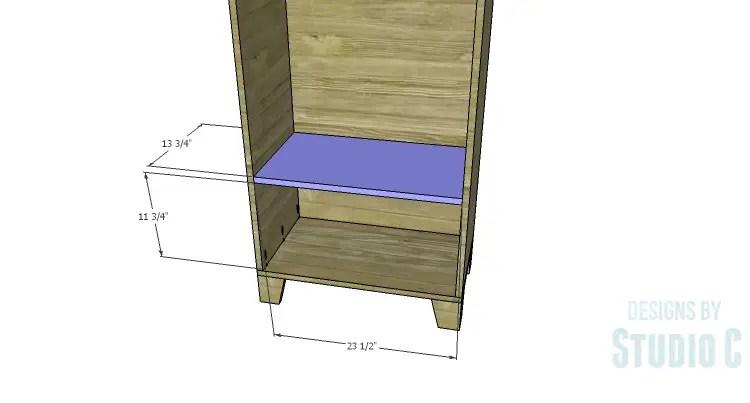 DIY Plans to Build a Coat Cabinet-Shelf