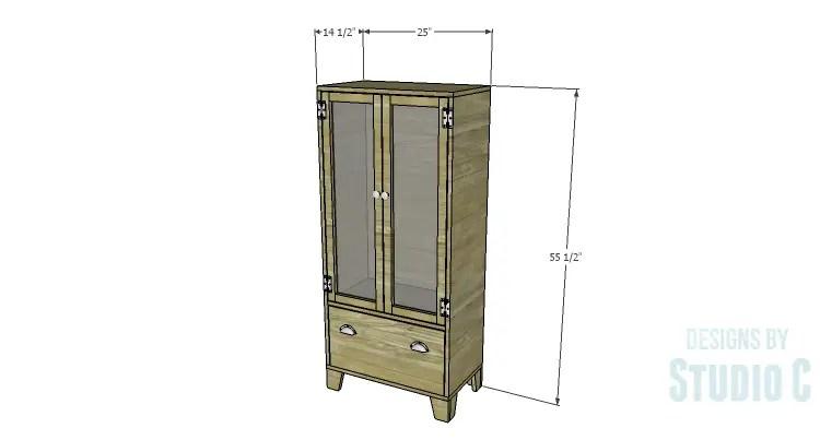 DIY Plans to Build a Coat Cabinet
