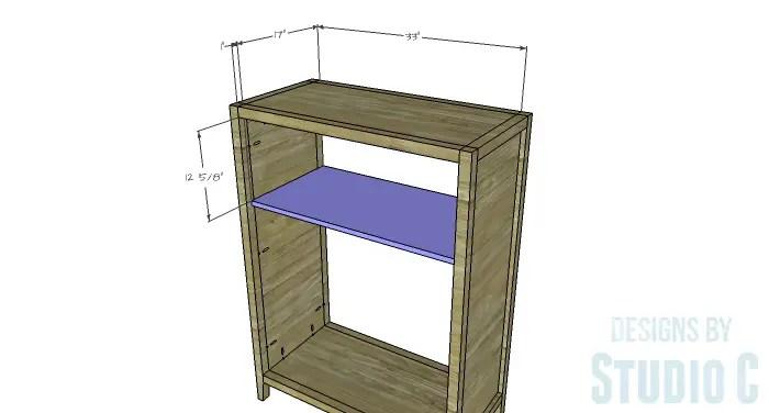 DIY Plans to Build a Braylon Chest-Shelf