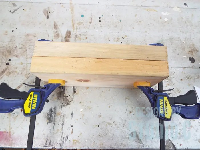 DIY Wood Arrow Candleholder-2x4 pieces