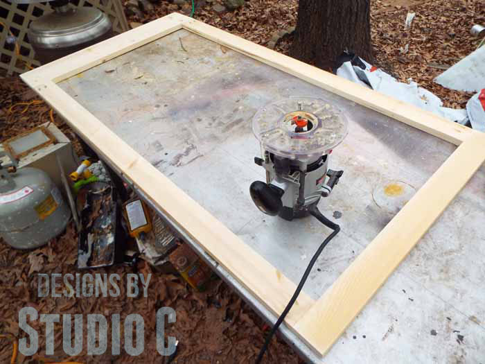 How to Use a Router to Cut a Rabbet in a Frame - Router and Frame