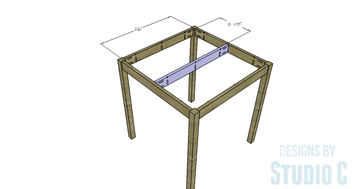 Simple round dining table center support for Dining table support