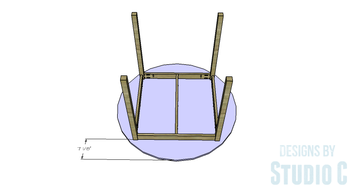 DIY Furniture Plans to Build a Simple Round Dining Table - Top