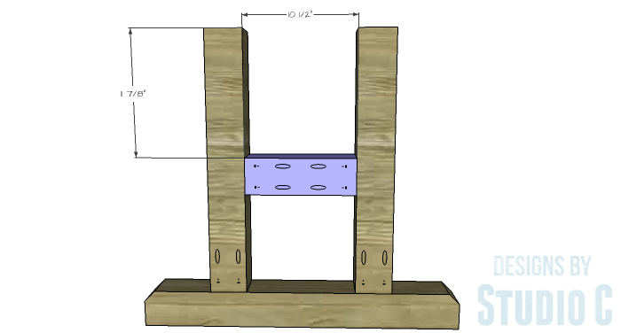 DIY Furniture Plans to Build a PB Inspired Stafford Dining Table - Side Legs 2
