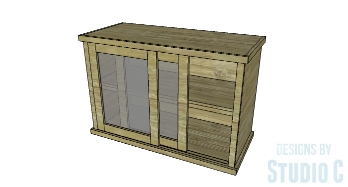 DIY Furniture Plans to Build a Stackable Cabinet - Copy 2