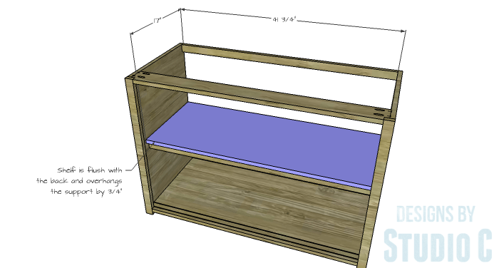 DIY Furniture Plans to Build a Stackable Cabinet - Shelf