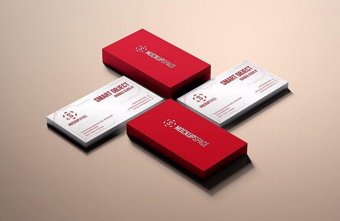 70+ Corporate & Creative Business Card Mockups | Healthcare Web ...
