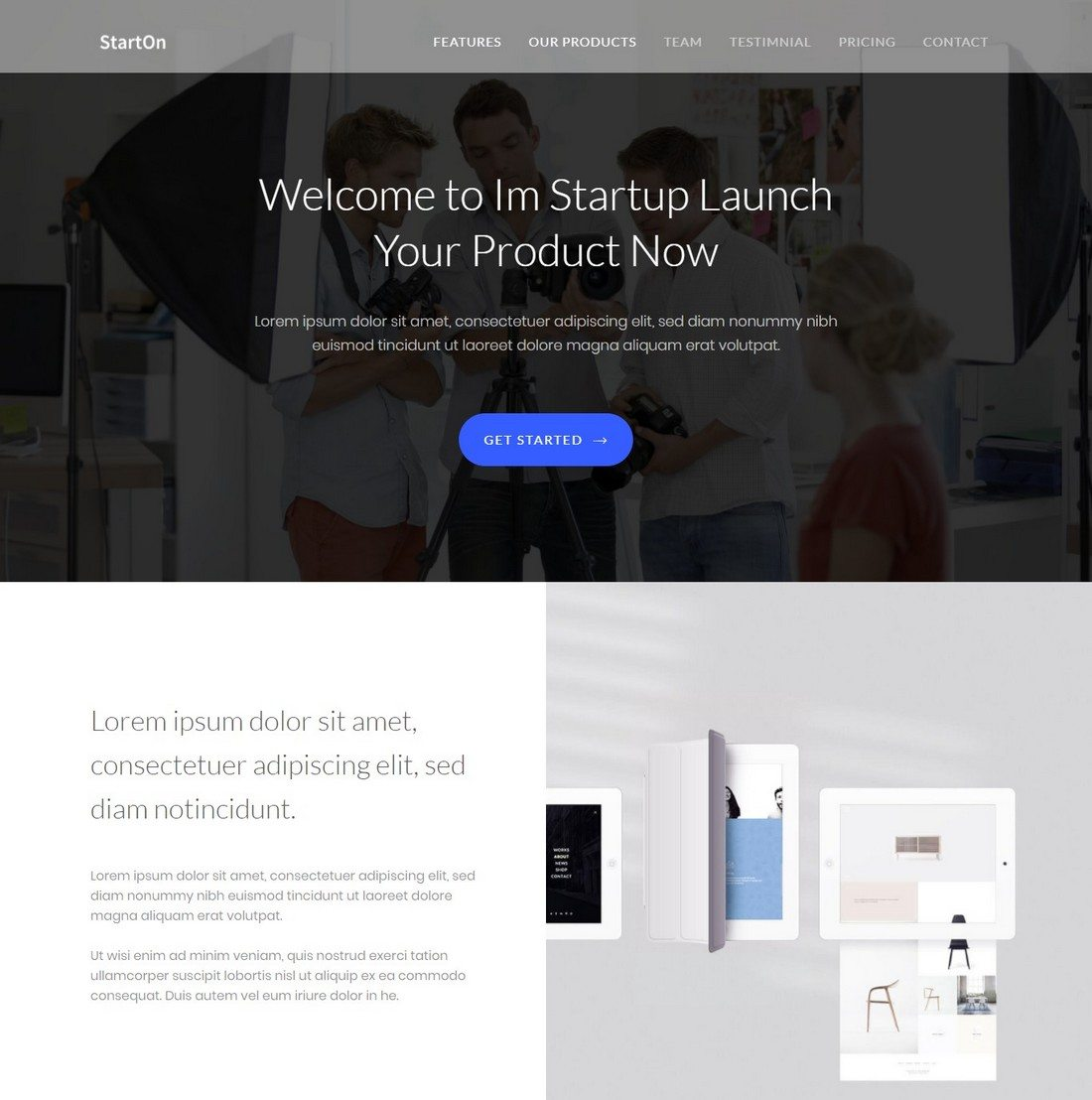 20+ Minimal Bootstrap Templates | Healthcare Web Design and ...