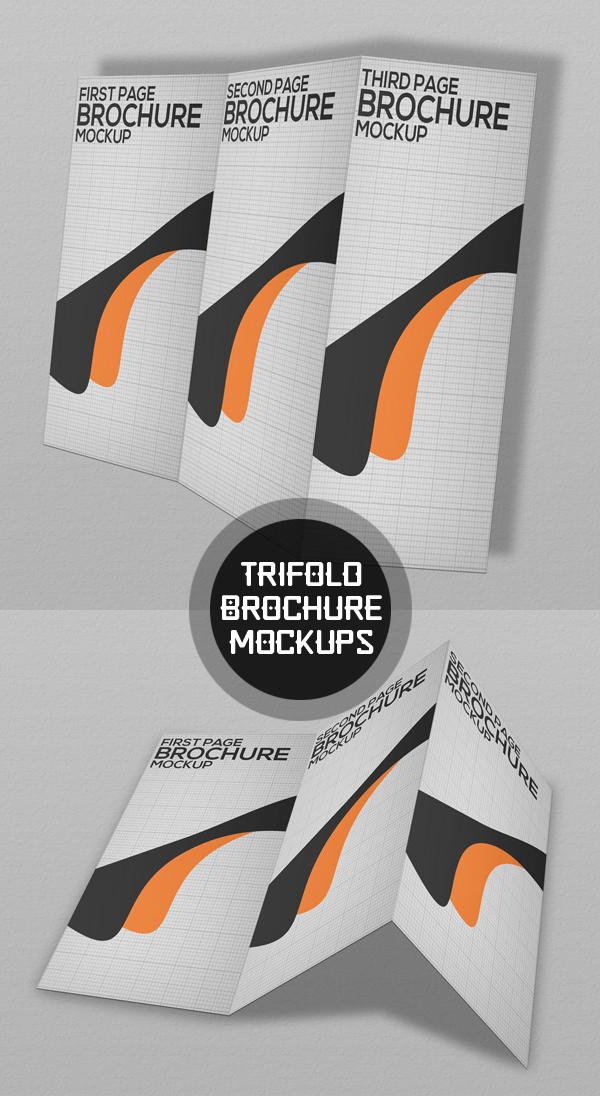 10_Tri-Fold Brochure Mockup