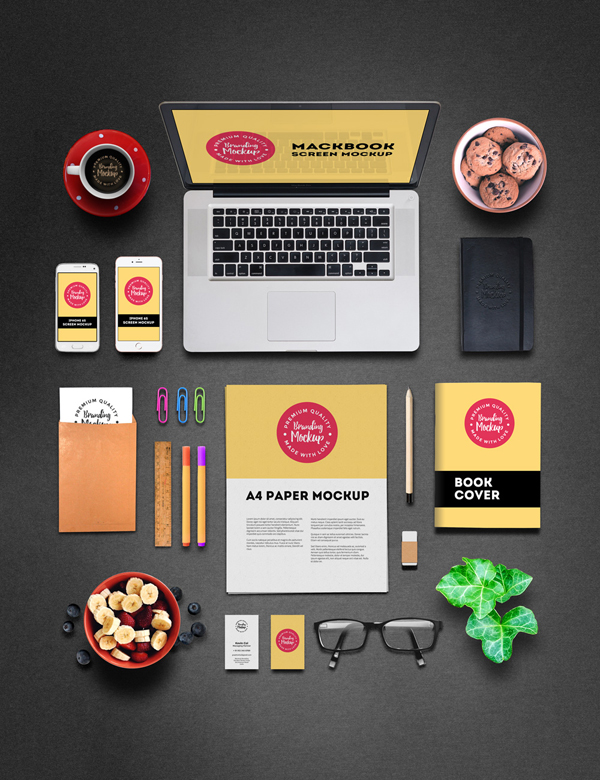 30_Professional Branding Mockup PSD