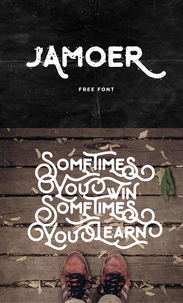 07 Jamoer Free Font