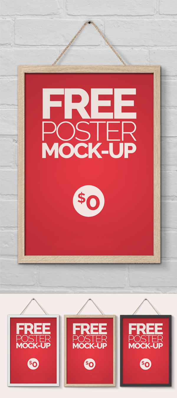 09 Free Poster Flyer Mock-Up