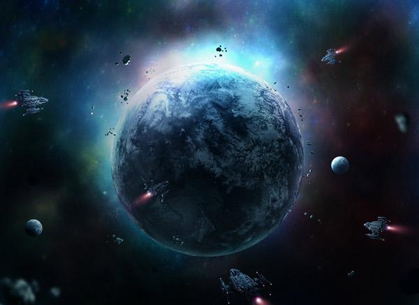 13 Sci-Fi Outer Space Scene