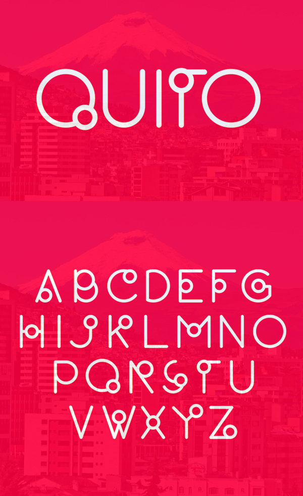 19 Quito Free Font