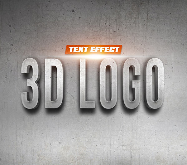 how to create a text logo in photoshop