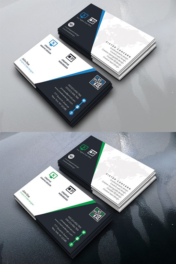 03 Creative Center Business Card