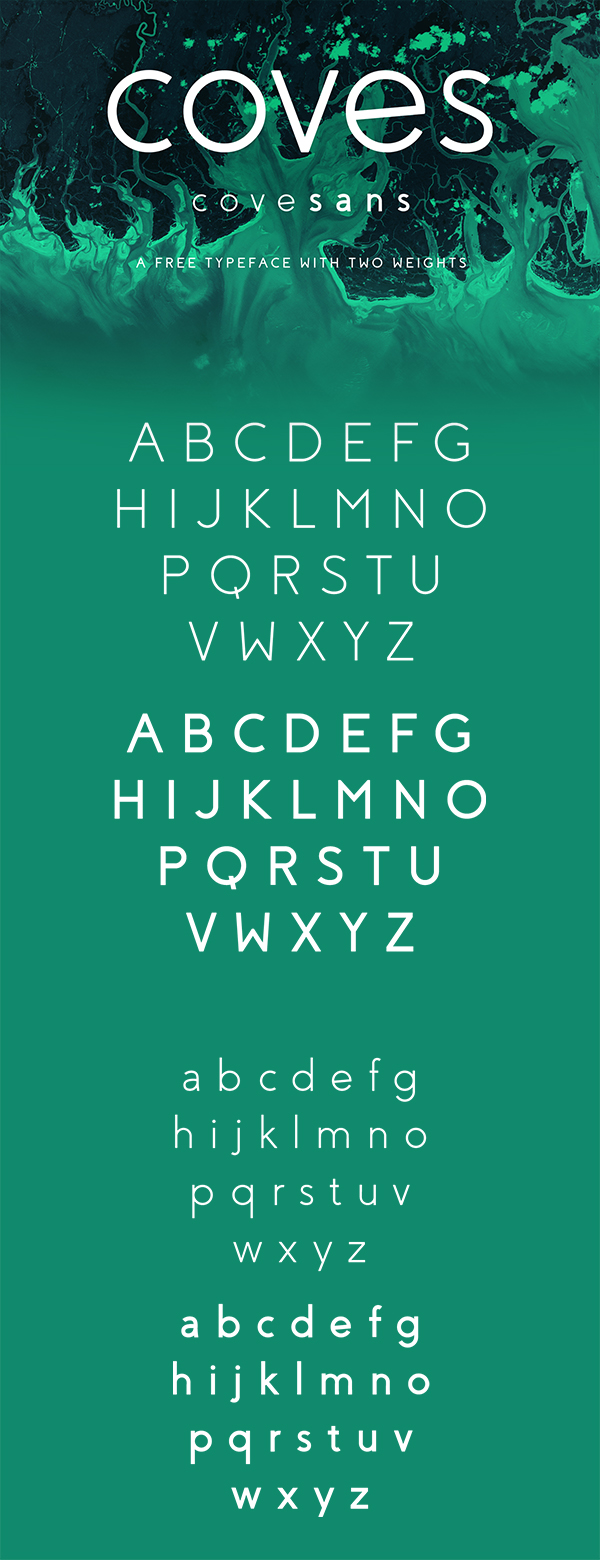 04 Coves Free Font