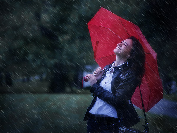 09 Add a Rain Effect to a Photo in Photoshop