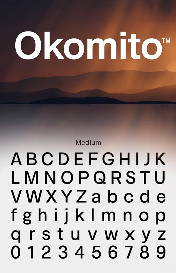 10 Okomito (Medium) Free Font