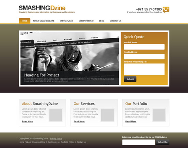 24 Create a Clean and Professional Web Design in Photoshop