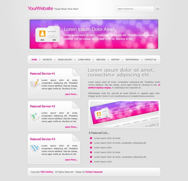 30 How to Create a Unique Colorful Site Layout