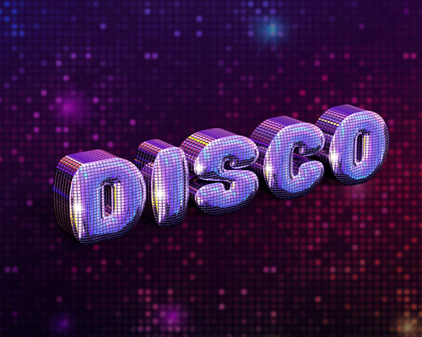 31 How to Create a Fabulous Mirror-Ball-Inspired Text Effect in Adobe Photoshop