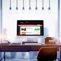 Mock up of generic design computer screen