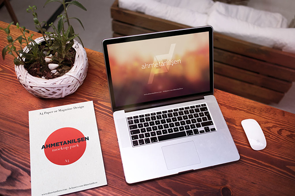 06 Set of MacBook Mockups