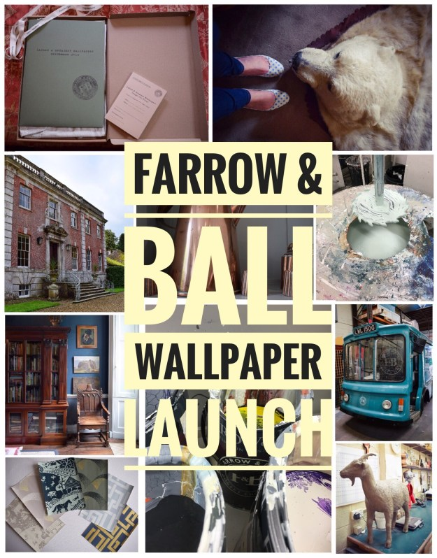 Farrow & Ball Wallpaper launch 2016, Deans Court Dorset