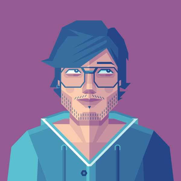 How to Create a Self Portrait in a Geometric Style