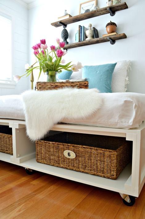 DIY Platform Bed | Chatfield Court