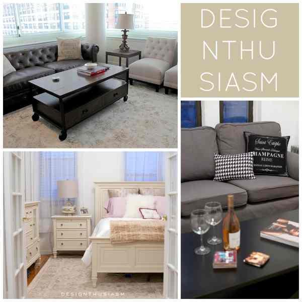 Urban Apartment Decor | Designthusiasm.com