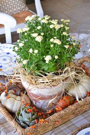 fall-center-piece-with-mums-bittersweet-pumpkins