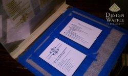 Remarkable Diy Letterpressed Wedding Invitation Setup Letterpress Love Diy Wedding Invitations Design Waffle Diy Wedding Invitations Pinterest Diy Wedding Invitations Reddit