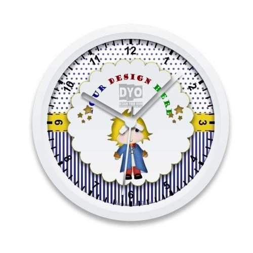 Medium Of Boys Wall Clock