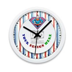 Relieving Boys Wall Clock Superman Design Your Own Gift Boys Wall Clock Design Your Own Boys Wall Clock Superman Design Your Own Gift