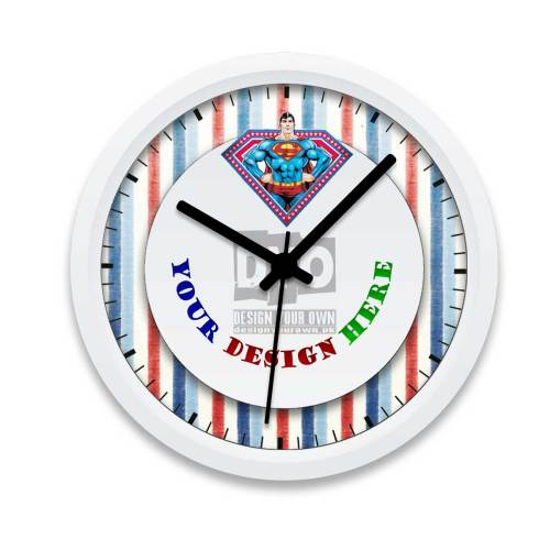Medium Of Boys Wall Clock