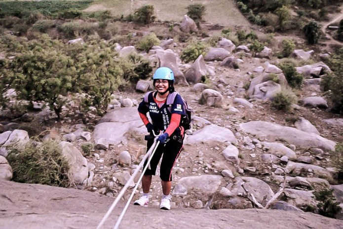 rappelling in India