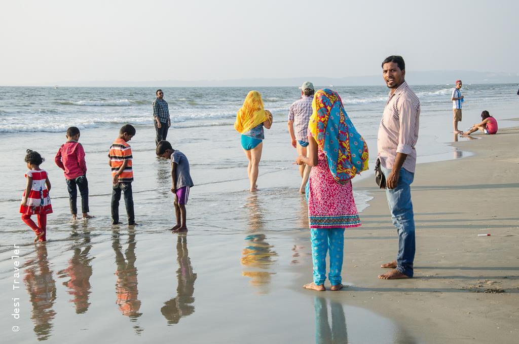 Kids on Goa Beach
