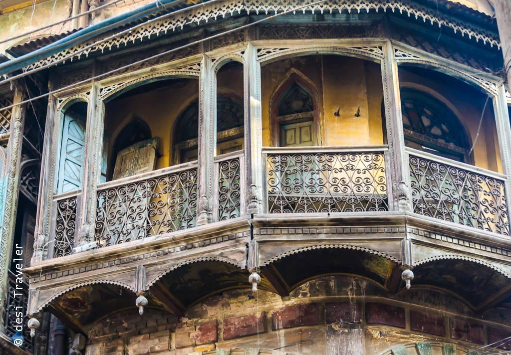Wooden Balcony Amritsar Heritage Walk Davinder Singh