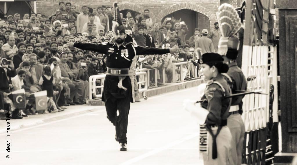 Pakistan ranger JCP wagah border