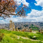April 2016 Calendar Download Desktop Wallpaper – Amman Citadel