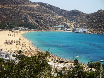 Mylopotas Beach Ios Grécia
