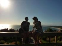 Pôr do sol em Punta Balena