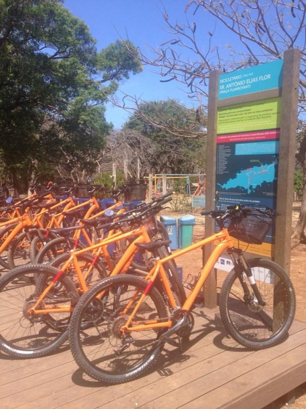 bicicleta do itau em Fernando de Noronha