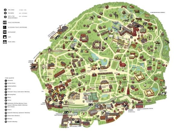 mapa skansen estocolmo suécia