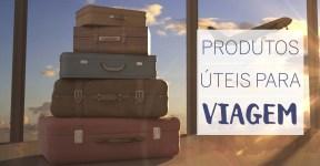 Produtos úteis para viagem